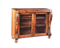WILLIAM IV ROSEWOOD SIDE CABINET at Ross's Auctions