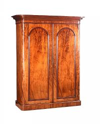 VICTORIAN MAHOGANY WARDROBE at Ross's Auctions