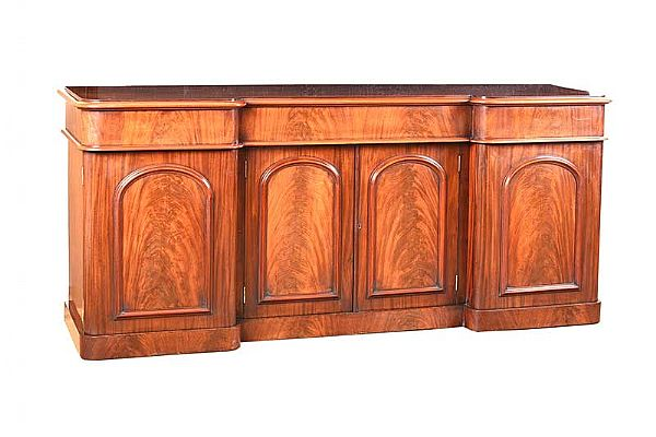 VICTORIAN MAHOGANY SIDEBOARD at Ross's Online Art Auctions