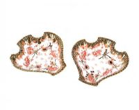 PAIR OF ROYAL CROWN DERBY DISHES at Ross's Online Art Auctions