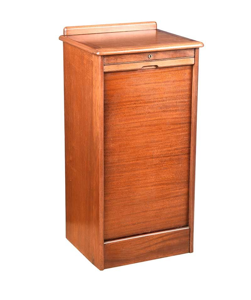 VINTAGE INDEX CABINET at Ross's Online Art Auctions