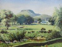 DALL RIVER & LURIG, COUNTY ANTRIM by Charles McAuley at Ross's Auctions