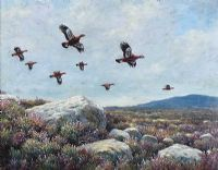 GROUSE OVER THE MOORS by Julian Friers RUA at Ross's Auctions