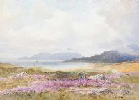CLEW BAY, CLARE ISLAND by Joseph William  Carey RUA at Ross's Auctions