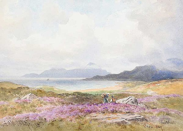 CLEW BAY, CLARE ISLAND by Joseph William  Carey RUA at Ross's Online Art Auctions