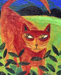 GINGER CAT by Graham Knuttel at Ross's Auctions