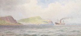 OFF WHITEHEAD by Joseph William  Carey RUA at Ross's Auctions