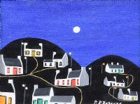MY ISLAND AT NIGHT by Patsy Dan  Rodgers at Ross's Auctions