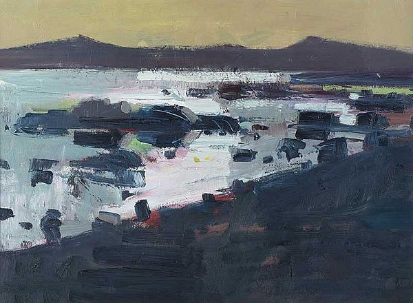 INISHFREE TOWARDS THE MAINLAND by Brian Ballard RUA at Ross's Online Art Auctions