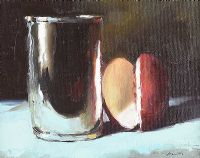 JUG & FRUIT by Lorraine Christie at Ross's Auctions