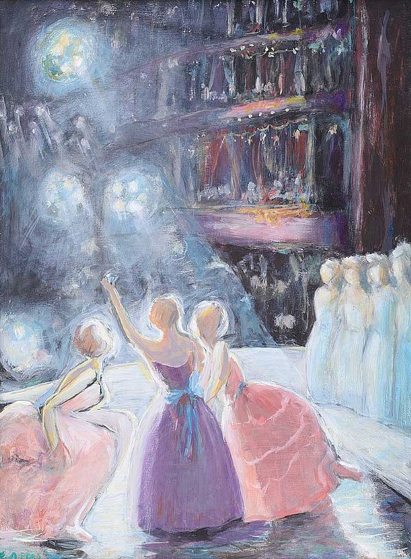 THE FINAL ACT, GRAND OPERA HOUSE, BELFAST by Alexander Ford at Ross's Online Art Auctions