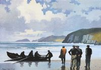 LANDFALL, SLEA HEAD, COUNTY KERRY by John F. Skelton at Ross's Auctions