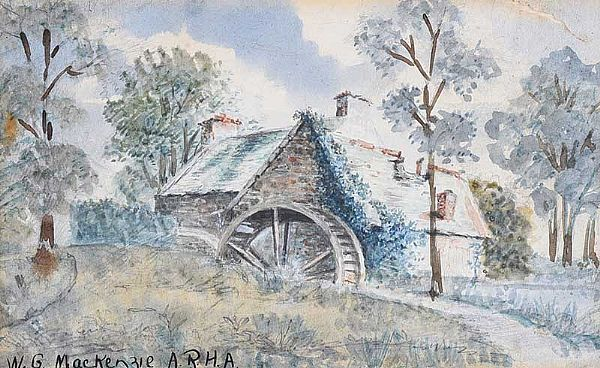 THE OLD MILL by William Gibbs Mackenzie ARHA at Ross's Online Art Auctions