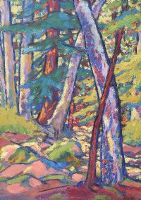 SUMMER WOODS by Evie Hone HRHA at Ross's Auctions