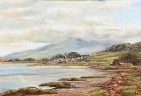 DUNDRUM HARBOUR by Vittorio Cerefice at Ross's Auctions
