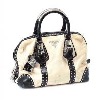 PRADA LEATHER HANDBAG at Ross's Jewellery Auctions