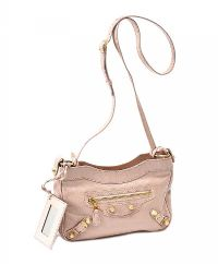 BALENCIAGA BABY PINK LEATHER CROSSBODY BAG at Ross's Jewellery Auctions