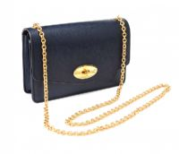 MULBERRY NAVY LEATHER CROSSBODY BAG at Ross's Auctions