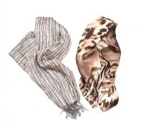 TWO 100% SILK SCARVES, ONE GERARD DAREL at Ross's Auctions