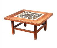 VINTAGE ROSEWOOD COFFEE TABLE at Ross's Online Art Auctions