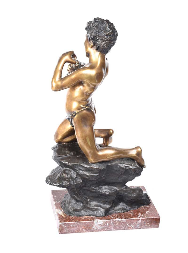 V. EUGINE BRONZE FIGURE at Ross's Online Art Auctions