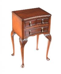 WALNUT BEDSIDE PEDESTAL at Ross's Auctions