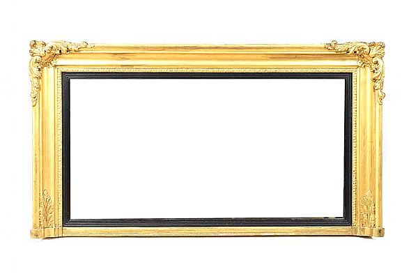 REGENCY GILT OVERMANTLE at Ross's Online Art Auctions