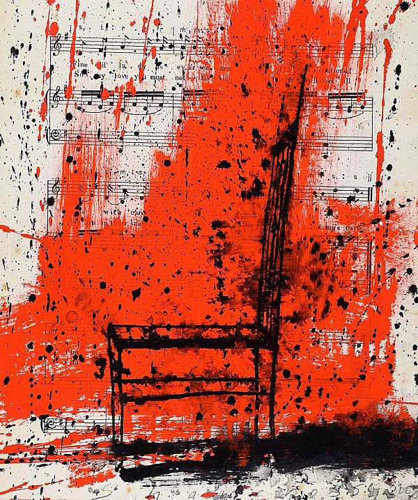 MUSICAL CHAIR by Neil Shawcross RHA RUA at Ross's Online Art Auctions