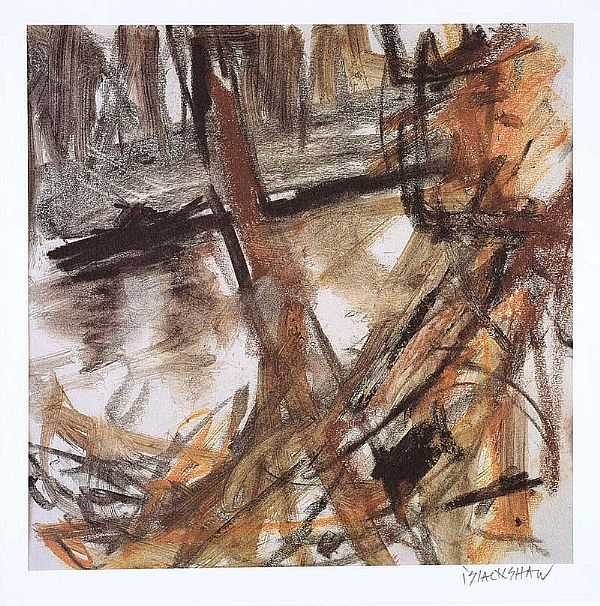 DUNADRY BANKS by Basil Blackshaw HRHA HRUA at Ross's Online Art Auctions