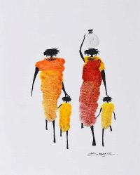 AFRICAN MOTHERS by African School at Ross's Auctions
