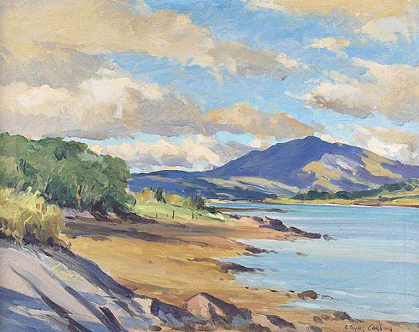 MULROY BAY, DONEGAL by Robert Taylor  Carson RUA at Ross's Online Art Auctions