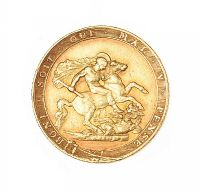 1820 BOXED GEORGE III FULL SOVEREIGN 22CT GOLD at Ross's Auctions