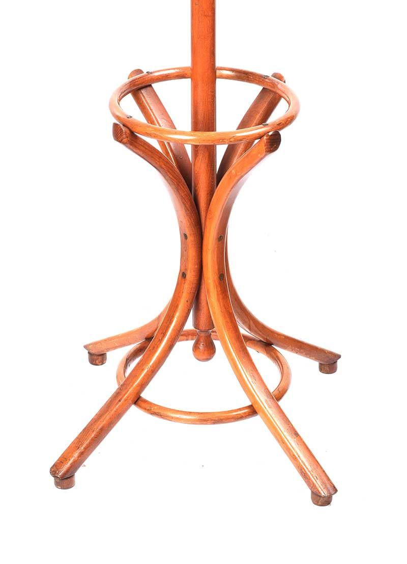 BENTWOOD REVOLVING HAT & COAT STAND. at Ross's Online Art Auctions