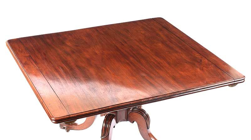 WILLIAM IV PEDESTAL DINING TABLE at Ross's Online Art Auctions