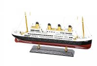 WOODEN MODEL OF TITANIC at Ross's Auctions