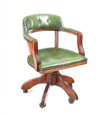 REVOLVING DESK CHAIR at Ross's Auctions