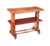 WILLIAM IV MAHOGANY SIDE TABLE at Ross's Auctions
