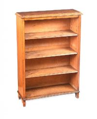 VICTORIAN SMALL OPEN BOOKCASE at Ross's Auctions