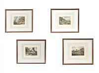 SET OF FOUR HUNTING PRINTS at Ross's Auctions