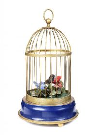 SINGING BIRD AUTOMATO IN CAGE at Ross's Auctions