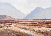 GAP OF DUNLOE, KILLARNEY, COUNTY KERRY by Maurice Canning  Wilks ARHA RUA at Ross's Auctions