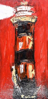 LIGHTHOUSE by Michael Smyth at Ross's Auctions