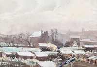 ALLOTMENTS, JANUARY by Joseph Stocks at Ross's Auctions
