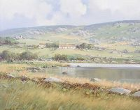 QUIET WATERS NEAR CROLLY, COUNTY DONEGAL by Arthur H. Twells RUA at Ross's Auctions