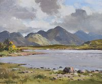 CONNEMARA LOUGH by Maurice Canning  Wilks ARHA RUA at Ross's Auctions