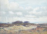 A MOORLAND by John P. Nicolson at Ross's Auctions
