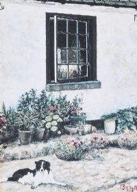 COURTYARD by Diarmuid Boyd at Ross's Auctions