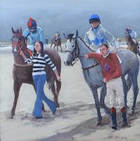 OMEY RACES by Cecil Maguire RUA at Ross's Auctions