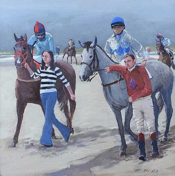 OMEY RACES by Cecil Maguire RUA at Ross's Online Art Auctions