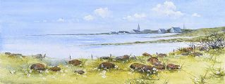 COUNTY DOWN LANDSCAPE by Claire Loane at Ross's Auctions